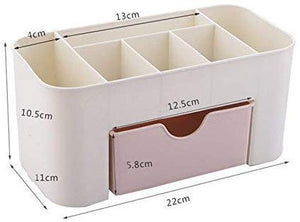 360 Makeup Organizer - Cosmetic Storage Drawers and Jewelry Display Box