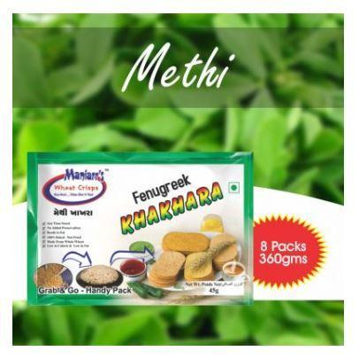 037 Methi khakhra (Pack of 8)