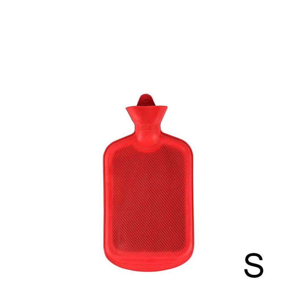 Your Brand Hot Water Bag/Bottle plain Rubber Heating Pad (0.5 L and 1 L capacity, 2 pcs, Multi color)