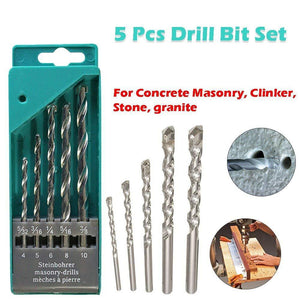 416 Metal Drill Bit Set (Multicolor, 5-Piece)