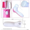 340 -5-in-1 Smoothing Body & Facial Massager (Pink)