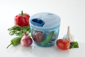 101 Compact & Powerful Hand Held Vegetable Chopper (650 ml)