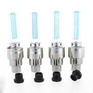 543 LED Flash Light lamp tyre Wheel Valve Sealing caps