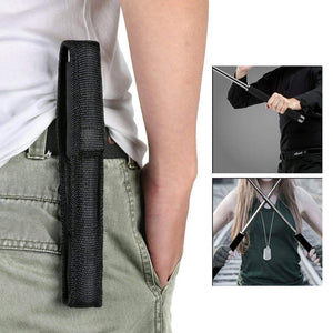 576 Multi-Function Collapsible  Self Defense Stick Extended
