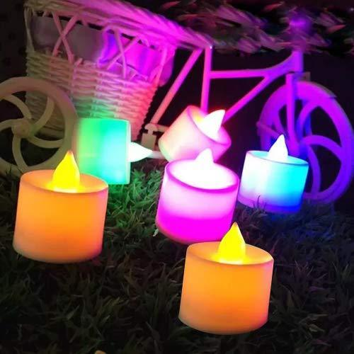 241 Festival Decorative - LED Tealight Candles (Multi, 1)
