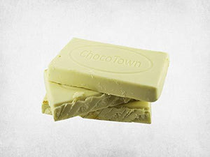 050 Chocotown Premium White Compound 400gm | Chocotown White Choco Slab |