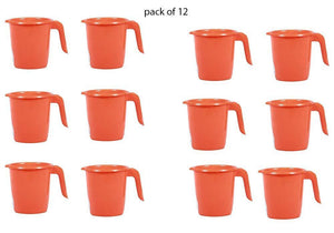 Your Brand Bathroom Accessories & Organization - Deluxe Plastic Mug for Bathroom (12pcs)