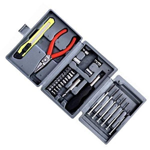 445 Steel Screw Driver, Cutter and Pliers Set