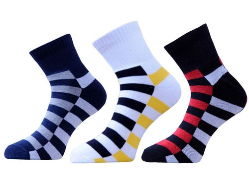 VaCalvers  Men's Ankle Length Socks Combo (Multi Color)