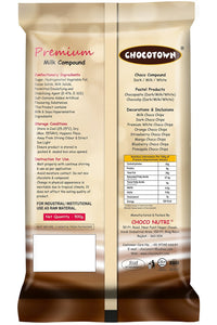 049 Chocotown Premium Milk Compound 400gm | Chocotown Milk Choco Slab |