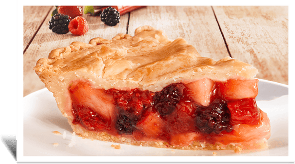 Mrs. B's Fruits of the Farm Pie