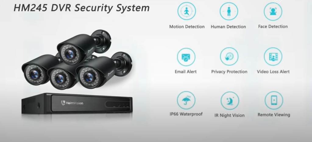 The Best Outdoor Wireless Security Camera System with DVR
