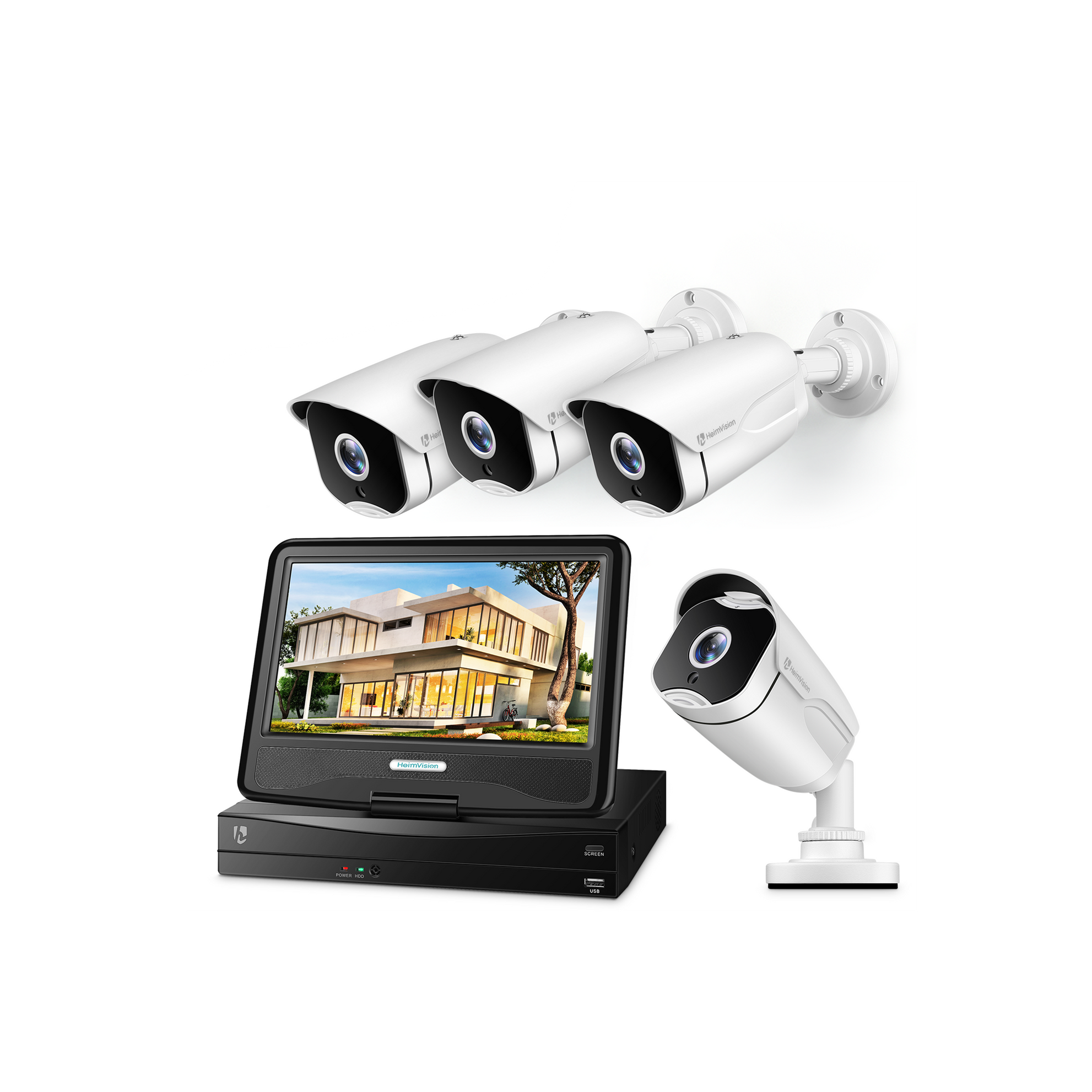 HeimVision HM541 5MP POE Security Camera System