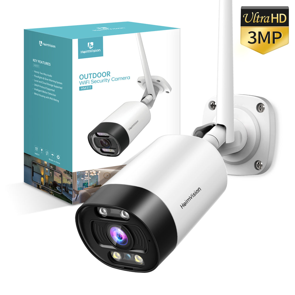 HeimVision 3MP Security Camera with Floodlights