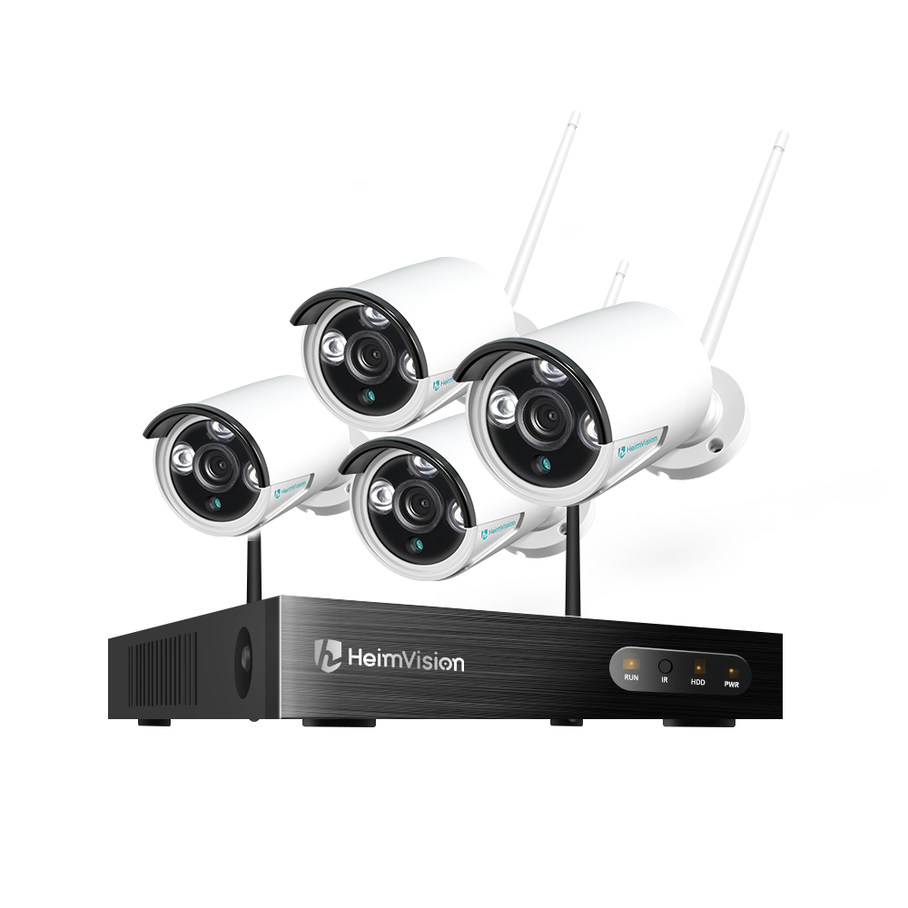 HeimVision HM241 Security System, 8CH 1080P NVR,Outdoor/ Indoor Wireless Security Camera