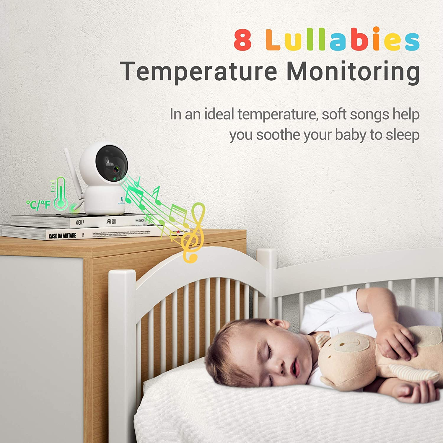 HeimVision Soothe 3 Video Baby Monitor