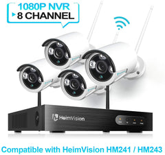 HeimVision CA01 Security Camera Compatible for HM241 / HM243 NVR Surveillance System
