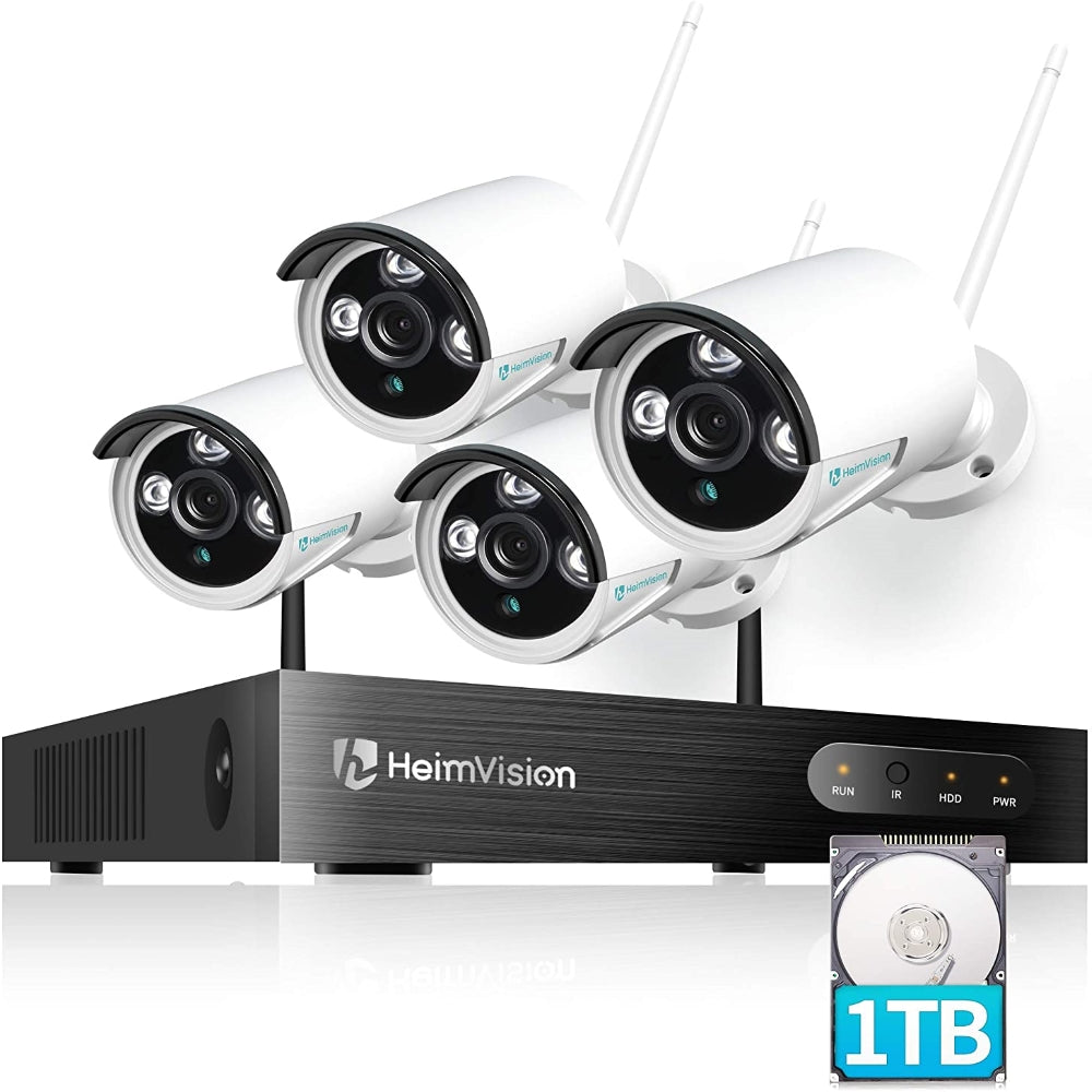 HeimVision HM241A Security System with 1TB Hard Drive