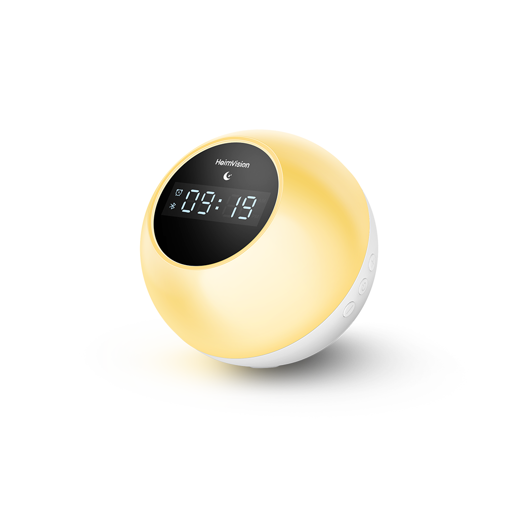 HeimVision A60C Music Wake Up Light, Sunrise Digital Alarm Clock