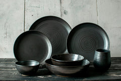 Pot Kettle Black Dish Set