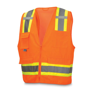 Reflective Vests with Eight Pockets