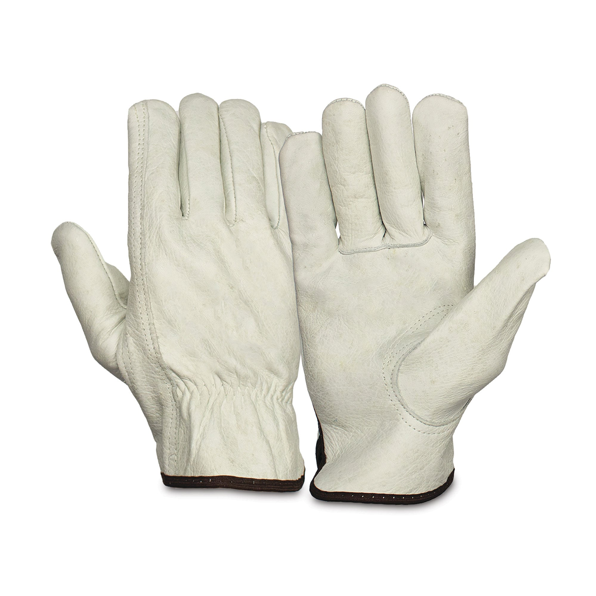 Value Cow Leather Driver Keystone Thumb Gloves