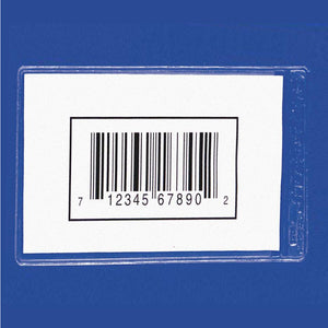"Side Load Bin Buddy's™ Label Holders, 3"" x 5"", 25pk"