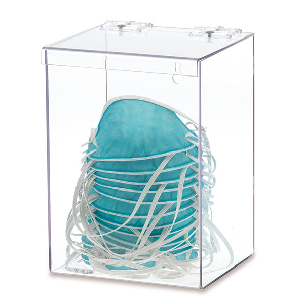 Bulk Mask Organizer with Lid