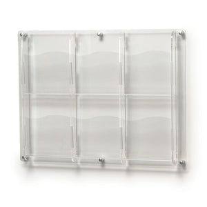 6-Compartment Magazine Organizer