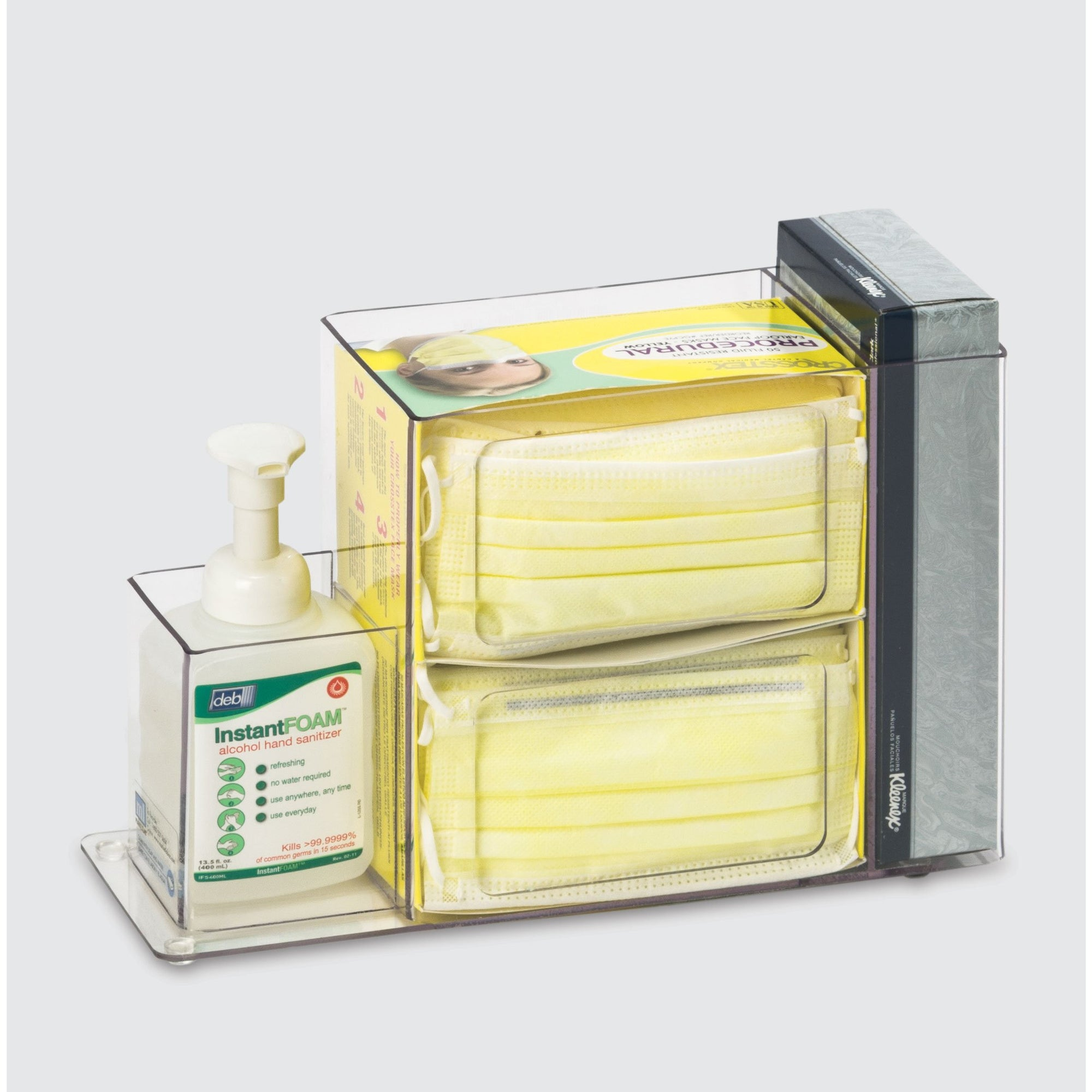 Acrylic Infection Prevention Supply Organizer