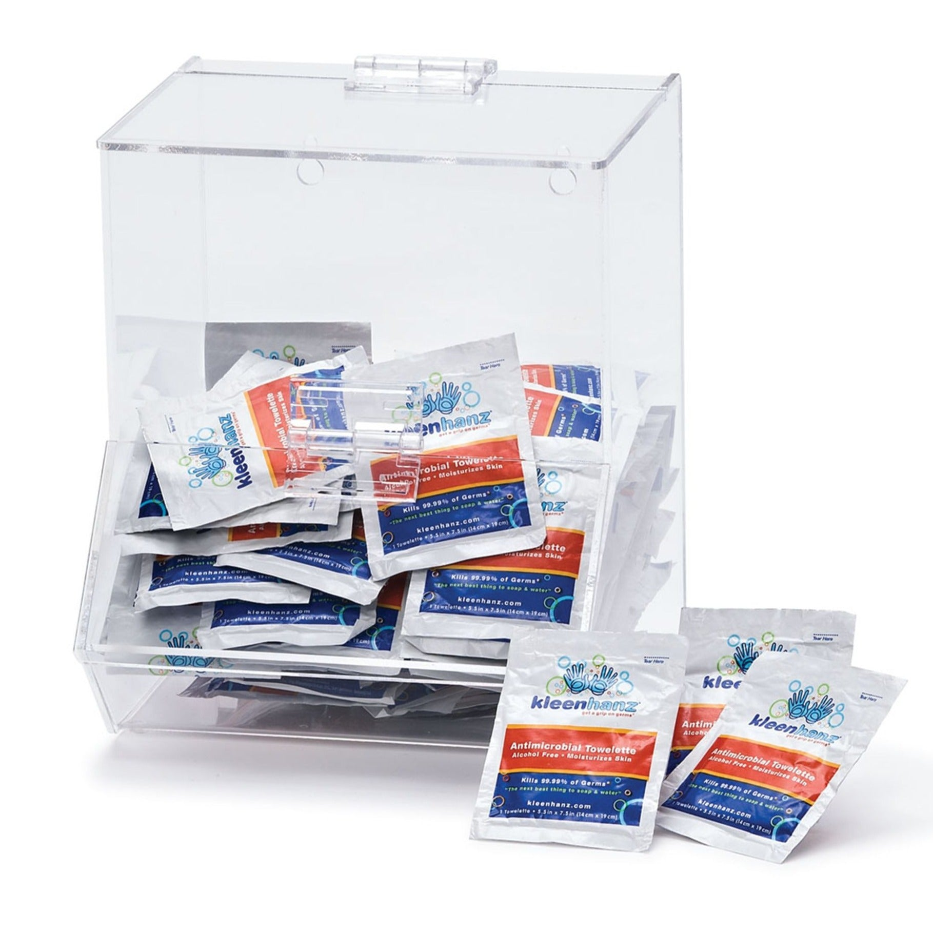Individually Wrapped Wipes Dispenser