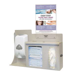 Bowman ABS Touchless One Lock Hygiene System