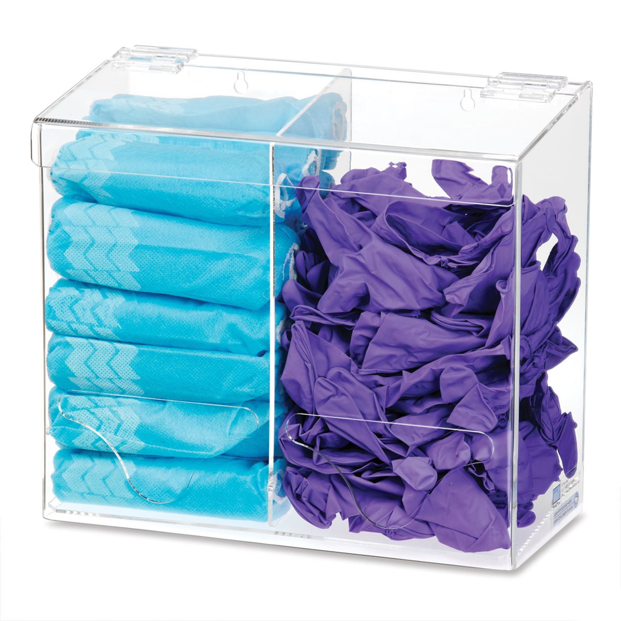 All-Purpose Acrylic Bulk Organizer, 2 Compartments