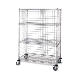 Wire Cart with Panels