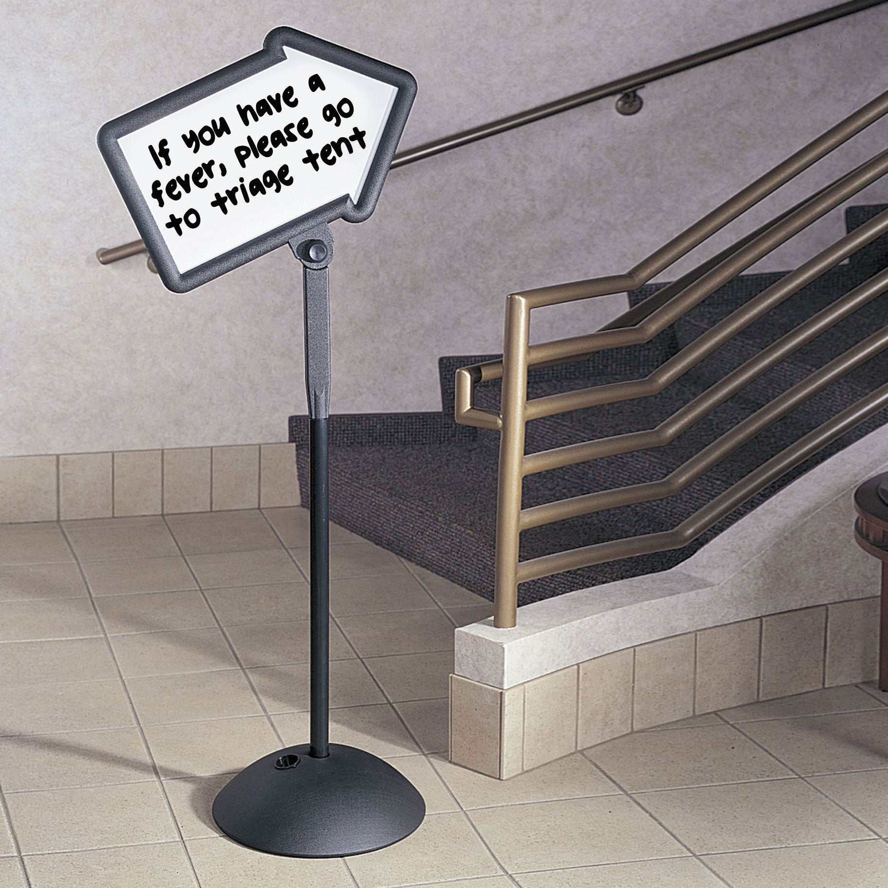 Write Way® Directional Sign