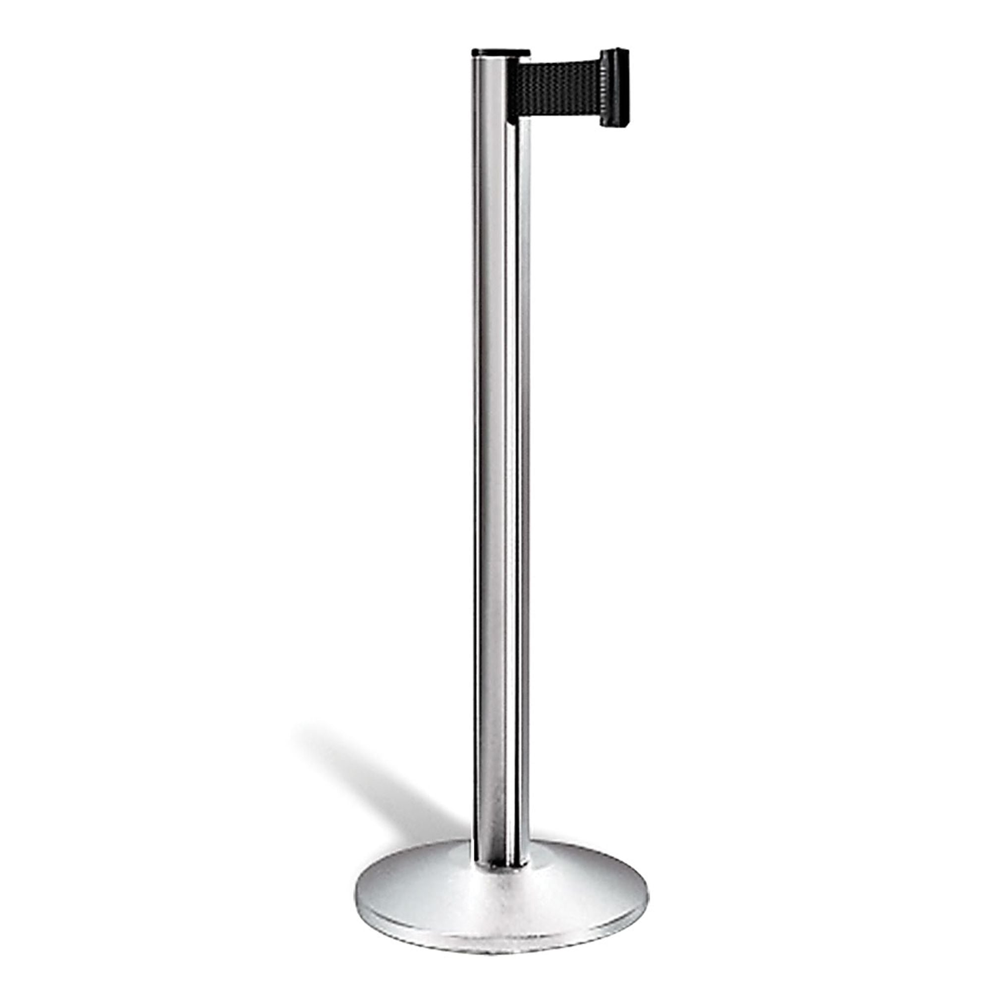 Satin-Aluminum, Retractable Belt Stanchion