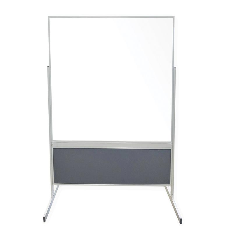Double-Sided Whiteboard Partitions