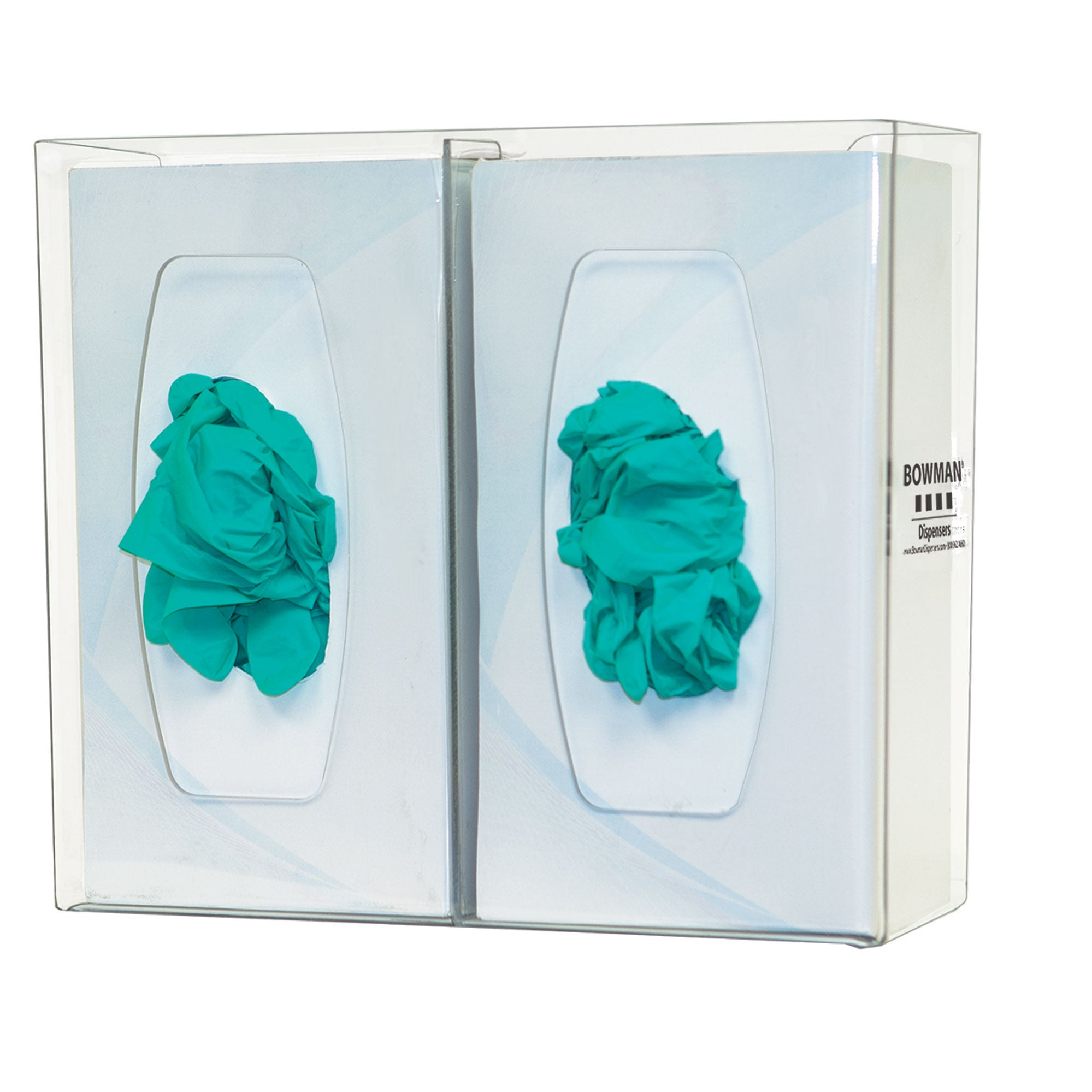Bowman PETG Glove Box Dispenser with Divider