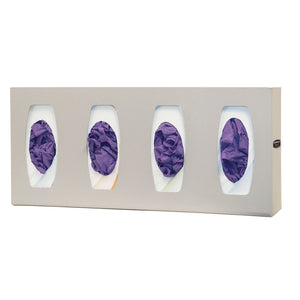 Bowman ABS Glove Box Dispenser with Dividers