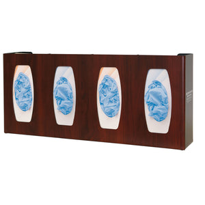 Bowman Sleek Fauxood Glove Box Dispenser