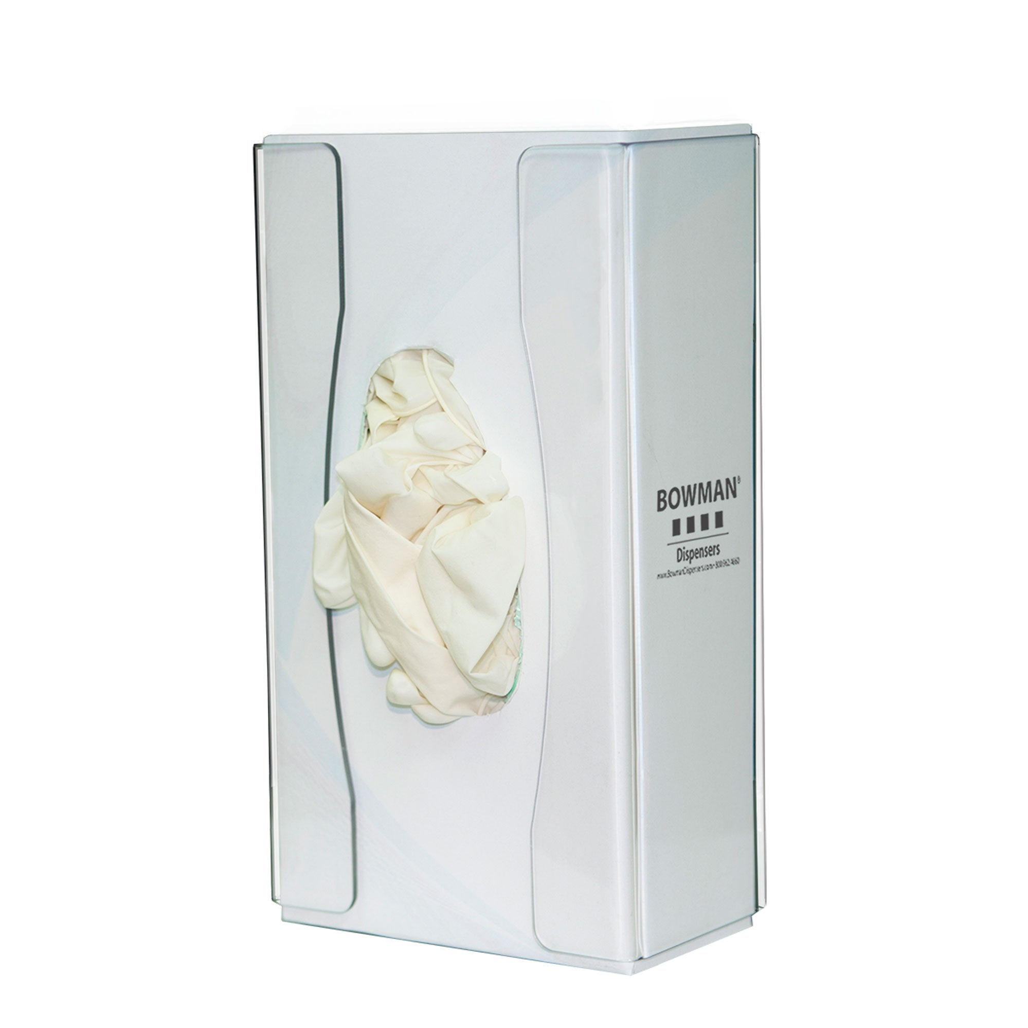 Bowman PETG Slim Single Food Service Glove Box Dispenser