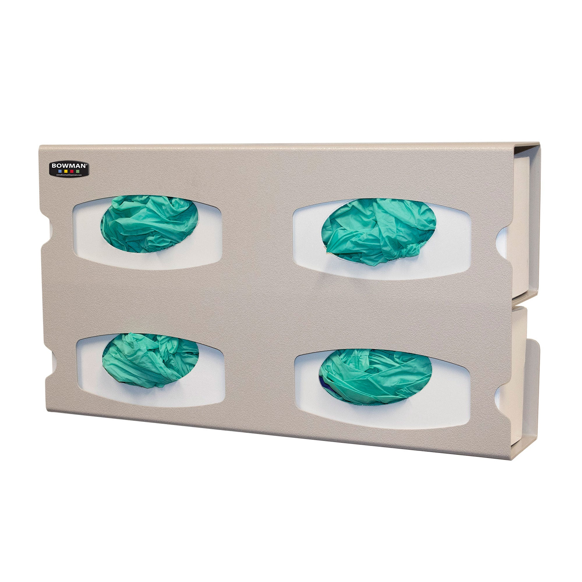 Bowman ABS Premium Quad Glove Box Dispenser