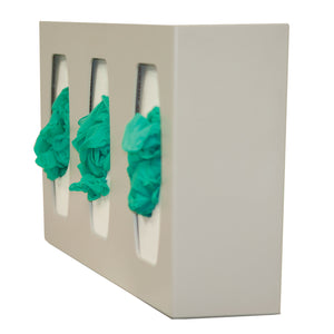 Bowman ABS Triple Glove Box Dispenser
