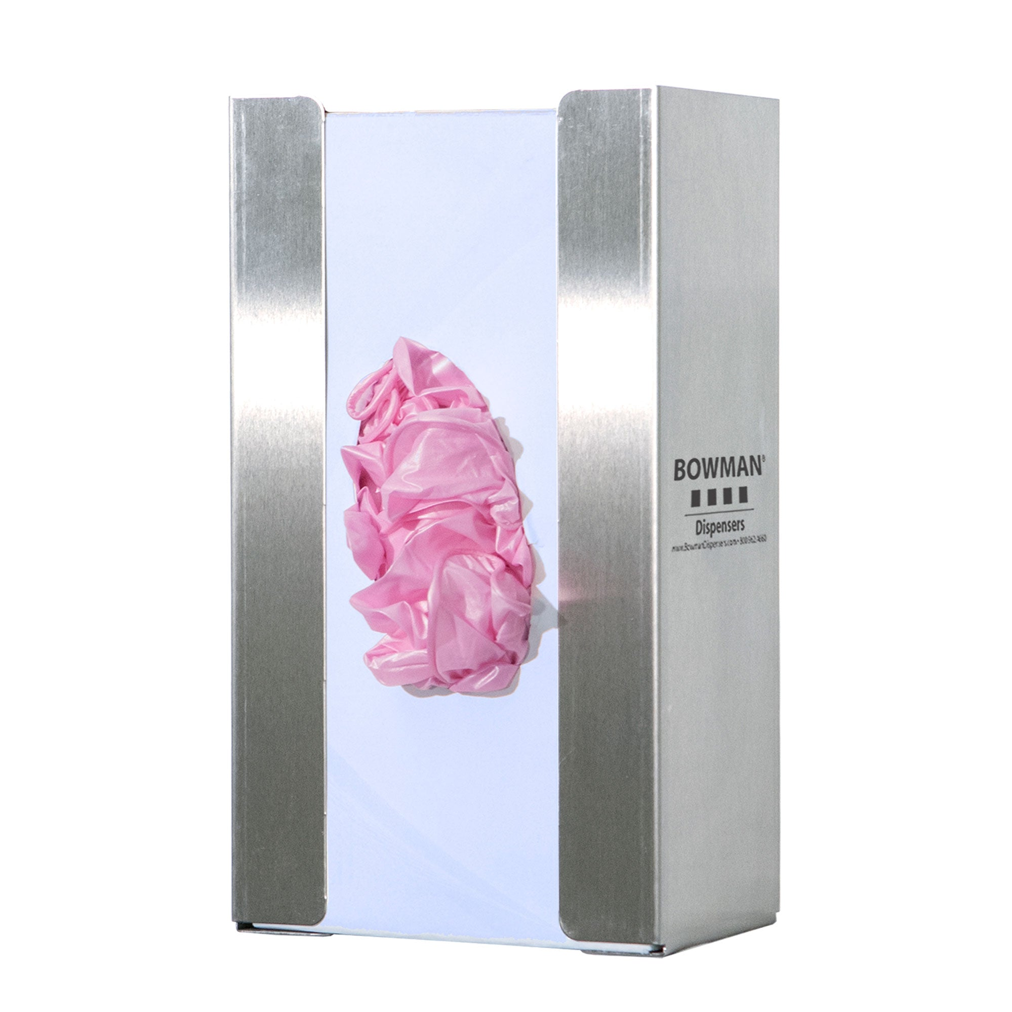 Bowman Stainless Steel Glove Box Dispenser