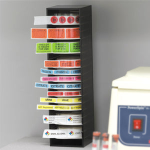 Wall-Mountable Label Tower