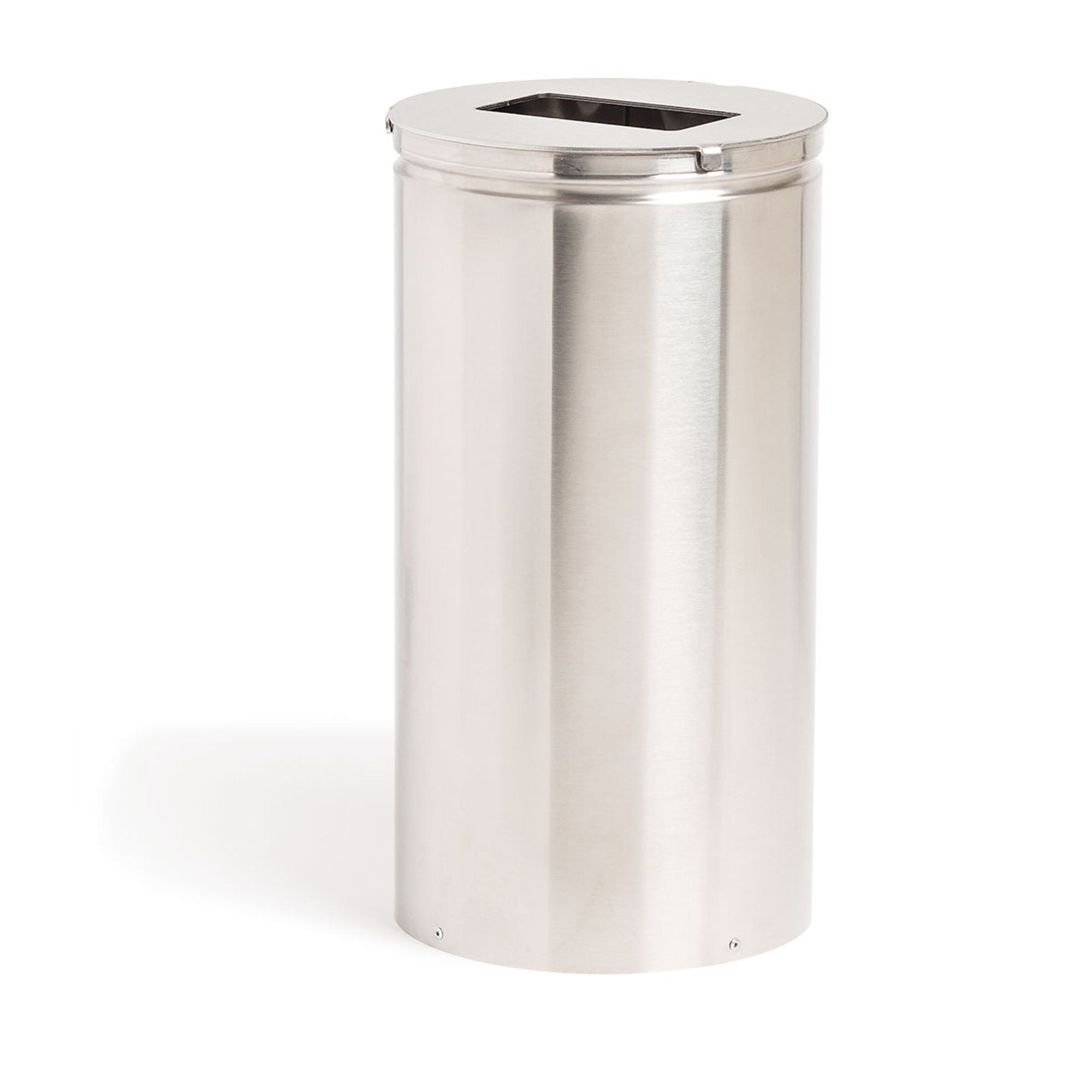 Stainless Steel Trash Can with No-Touch