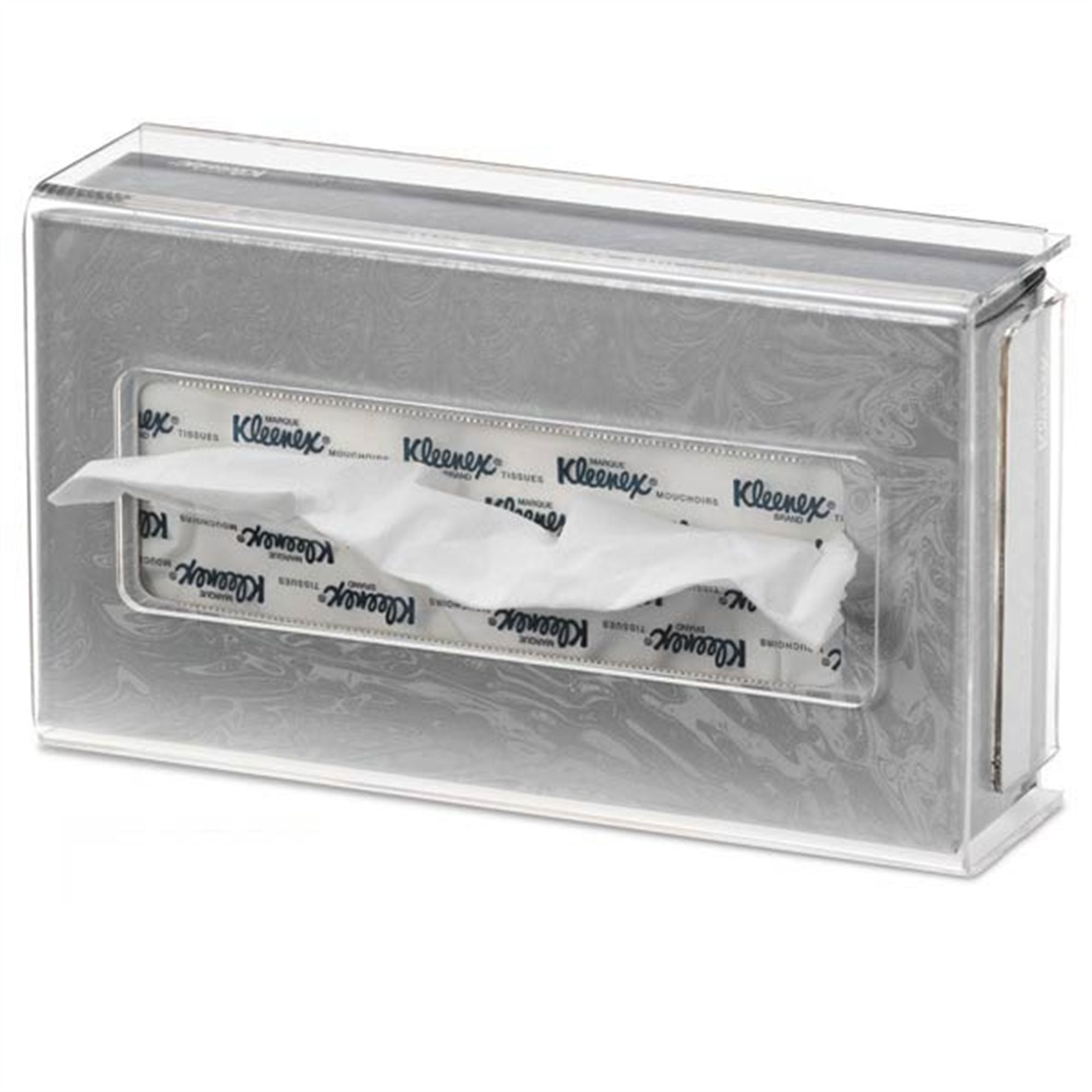 Rectangular Acrylic Facial Tissue Cover