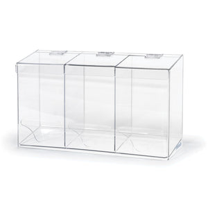 All-Purpose Acrylic Bulk Organizer, 3 Compartments