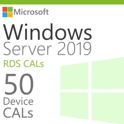 Windows Server 2019 50 RDS Device CALs Product Key Global