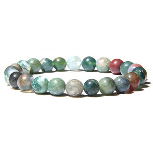 Natural Healing Stone Beads Bracelet 14 Different Varieties
